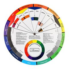 Color Wheel Pro Tattoo Pigment Painting Mixing Gui one color one size