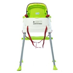 Portable High Feeding Chair Infants Booster Seat B Light Green Normal