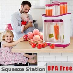 Squeeze Juice Station Baby Food Organination Stora Multicolor Normal
