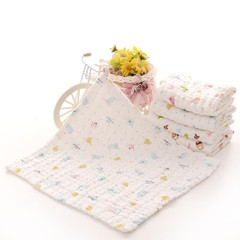 Baby Newborn Cartoon Animal Pattern Square Shape C one color one size