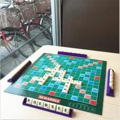 Scrabble Board Game Classic Crossword Game Kids Fa Multicolor Normal