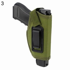 Durable Tactical Concealed Belt Pistol Holster for multicolor one size