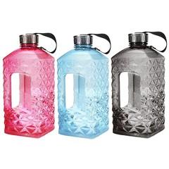 2.2L Big Protable Free BPA Water Bottle Sport Trai Pink Normal