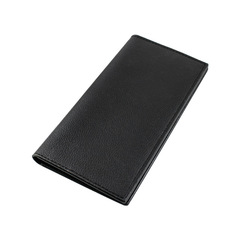 New men's wallet fashion casual business long ultra-thin multi-card wallet black