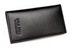 New men's clutch bag long wallet handbag simple fashion large-capacity wallet black