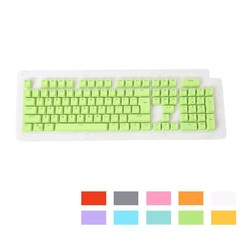 Doubleshot PBT Spacebar 104 Keycap Backlit for Che Red one size