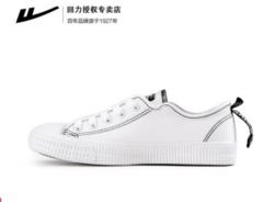 Pull back canvas shoes_2019 autumn new basic models couple wild students Korean version black 35