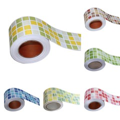 1M Mosaic Wall Stickers Bathroom Waterproof Backsp 4# one size