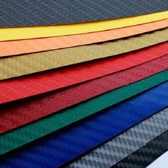 Carbon Fibre Vinyl Sheet Wrap Sticker Film Paper D White one size