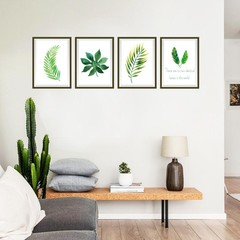Lovely Fresh Leaves Living Room Bedroom Home Offic one color one size