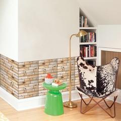 30x30cm 3D Brick Style Wall Sticker Anti-Collision 4# one size