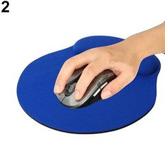 Comfortable Wrist Soft Rest Support Mat Mouse Mice Black One Size