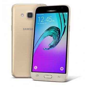 "SAMSUNG GALAXY J3 2016, 5"" Super AMOLED Screen, 8GB ROM, 8MP Camera Gold"