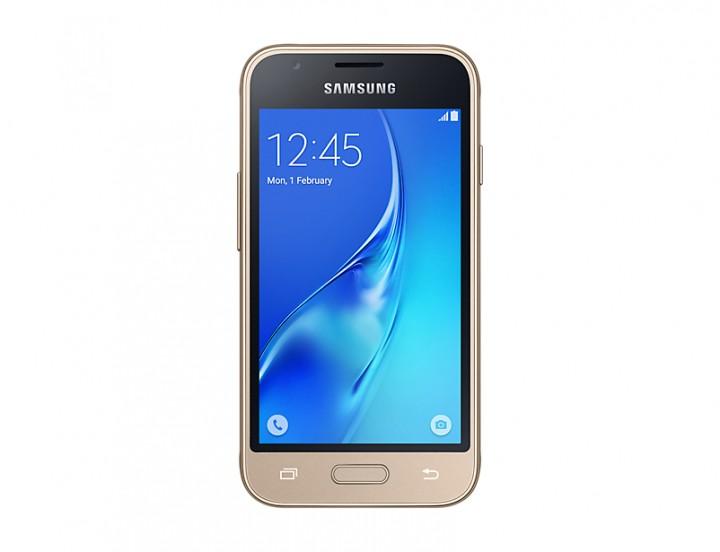 Samsung Galaxy J1 Mini prime: 4 Inch, 5.0MP Main Camera, 8 GB ROM, 0.75GB RAM, Android 5.1 - Gold
