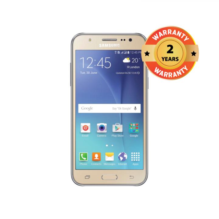 """SAMSUNG GALAXY J5, 5.0"""" HD, 8GB ROM, 1.5GB RAM, 13MP Gold"""