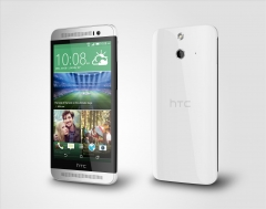 "HTC ONE E8- 5"" Full HD 1080p Display, 13Mp+5MP Camera, 2GB RAM+16GB ROM, 2600mAh Battery white"