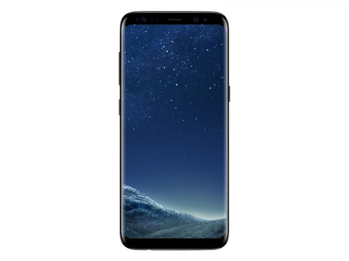 "Samsung Galaxy S8 Smartphone- 5.8"" - 64GB - 4GB RAM - 12 MP Camera - 4G/LTE - Dual SIM black"