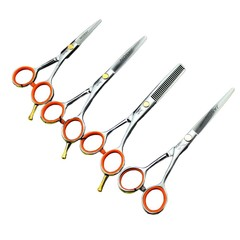 Hair Scissors Flat Thinning Cutting Professional B 4# one size