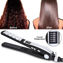 Salon Flat Iron Hair Straightener Straightening St Multicolor Normal