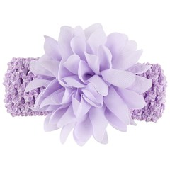 10 Pcs Kids Baby Girls Headbands Lace Flower Headb one color one size