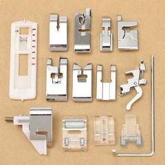 14Pcs Domestic Snap Presser Foot Set for VIKING HU Multicolor Normal