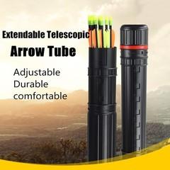Adjustable Arrow Quiver Shoulder Tube Archery Case Multicolor Normal