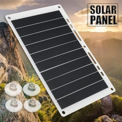 5V 10W Portable Solar Power Charging Panel USB Cha Multicolor Normal