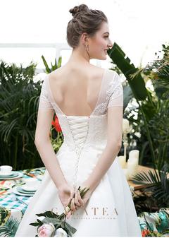 Mori Light Wedding Garment New Wedding Garment Bride m white