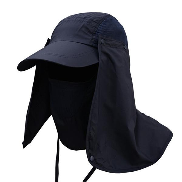 16ee1487897 Mens Quick Dry Neck Cover Sun Fishing Hat Ear Flap Blue Normal  Product No   8822161. Item specifics  Seller SKU 21120907254439945582058  Brand