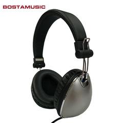 Creative Metal Christmas Gift Headphones gray