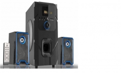 Sayona Subwoofer 3.1 Channel Speakers 15000W PMPO Dark Grey