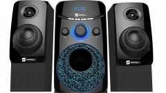 Subwoofer  channel 2.1 SHT-1202BT - 6000 PMPO USB,SD, DIGITAL FM, black