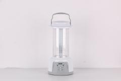 SAYONA RECHARGABLE LED LANTERN 48 SMD WITH SOLAR PANEL- SLED-6116 white , .