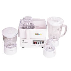 Sayona Blender/Juicer ( 4 in 1) 1.6Litre Jar White