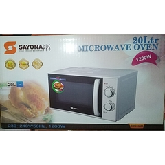 Sayona SMO4229 Microwave Oven White 20L 1200W