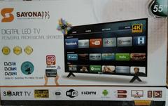 Sayona HD Digital Smart  TV 55'' black 55