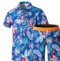 Beach leisure suit blue XL