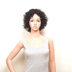#1b,dl-18,Hot selling 100% huamn hair wig,Machine Made