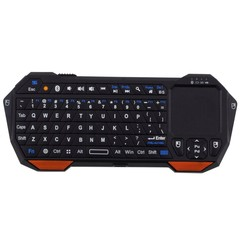 Mini Wireless Bluetooth 3.0 Keyboard Touchpad for  Orange one size
