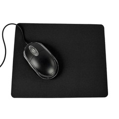 21.5 x 17.5cm Gaming PC Laptop Mouse Pad Anti-Slip Black one size