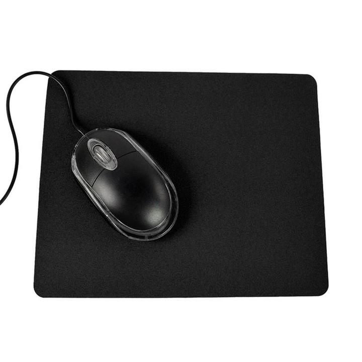21.5 x 17.5cm Gaming PC Laptop Mouse Pad Anti-Slip Black one size