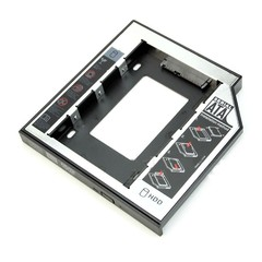 Universal 12.7mm SATA 2nd HDD SSD Hard Drive Caddy one color one size