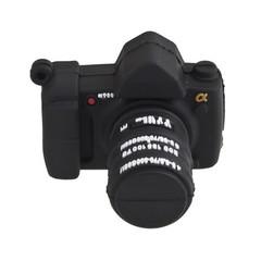 Creative Portable Cute Camera Shape 8GB USB Flash  Black one size