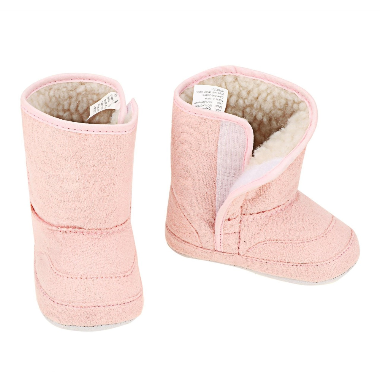 e6c513491 Fashion Cute Newborn Unisex Baby Fleece Bootie Cas Blue 17/0-3M