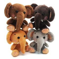 Cute Elephant Plush Toy Elephant doll yellow x