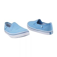 Stylish Bata Canvas Rubber Shoes (5599004) - Blue 3