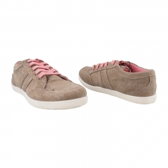 Comfy and Fashionable Canvas Shoes (5898045) - Brown 3