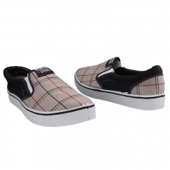 Stylish North Star Slip-on Canvas Shoes Grey-8592021 6
