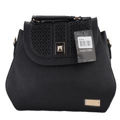Marie Claire Multiple Compartments Ladies Handbag-Black (9806015)