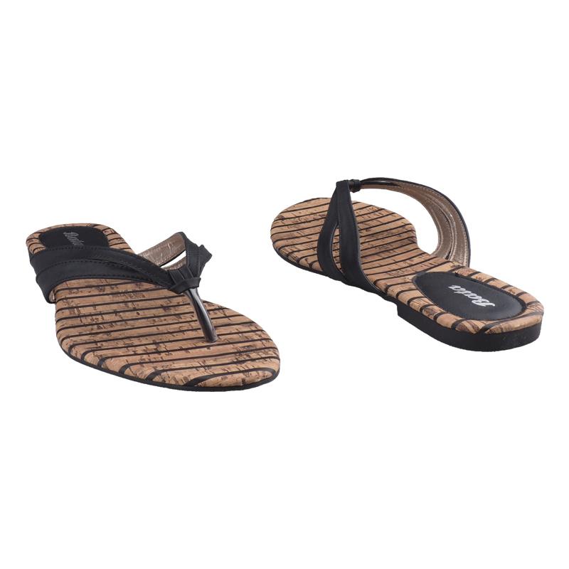 e71b08e22 Trendy Bata Ladies Casual Flat Sandals black-5716165 3   Kilimall Kenya